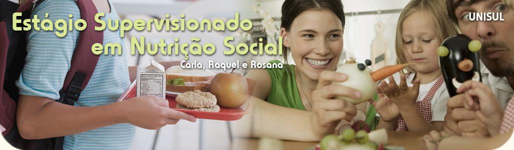 Estágio Supervisionado em Nutrição Social