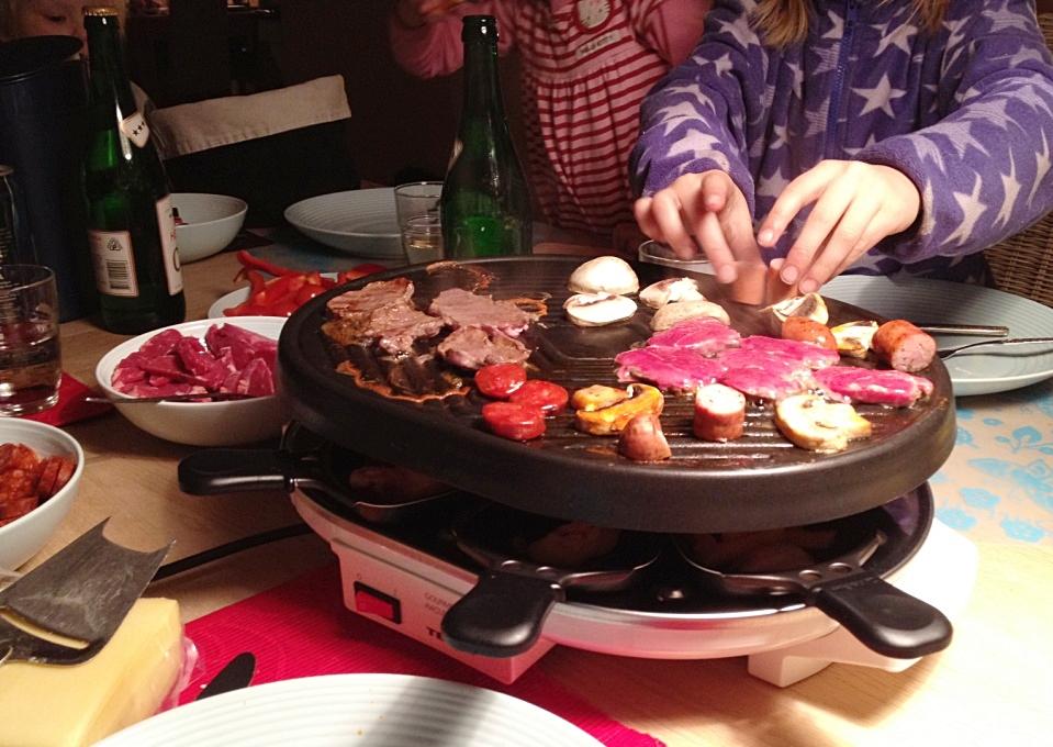 Kokeboka mi raclette - Four a raclette tefal ...