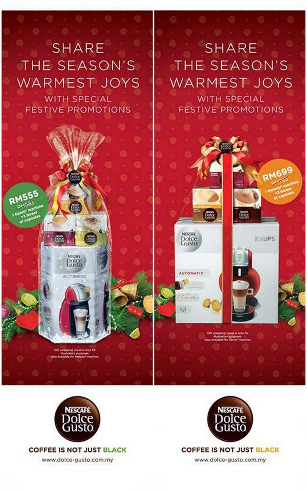 nescafe dolce gusto christmas celebration promotion. Black Bedroom Furniture Sets. Home Design Ideas