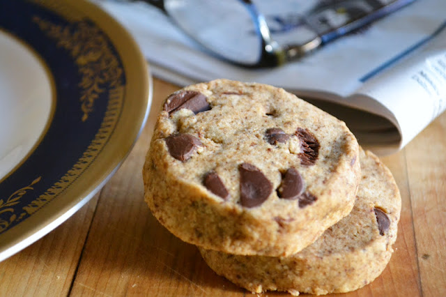 Espresso Chip Shortbread Cookies are sophisticated cookies for the ...
