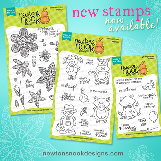 2015 March Release | Newton's Nook Designs