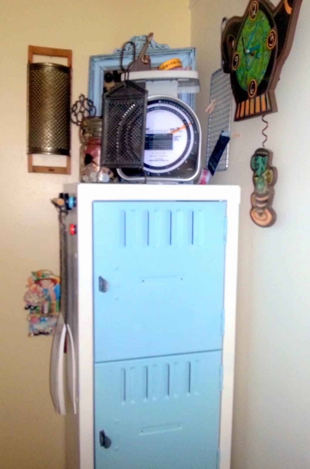 painting school locker