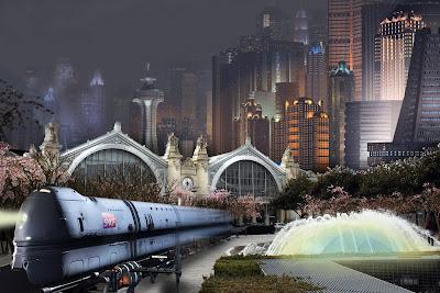 gare de Tours projet ilot Vinci tour dans 50 ans