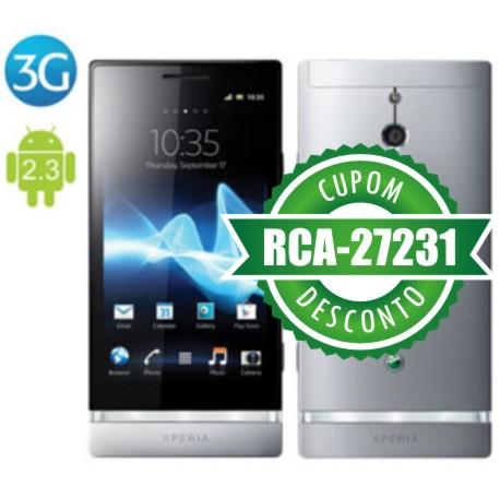 Cupom Efácil - Smartphone Sony Xperia P 3G