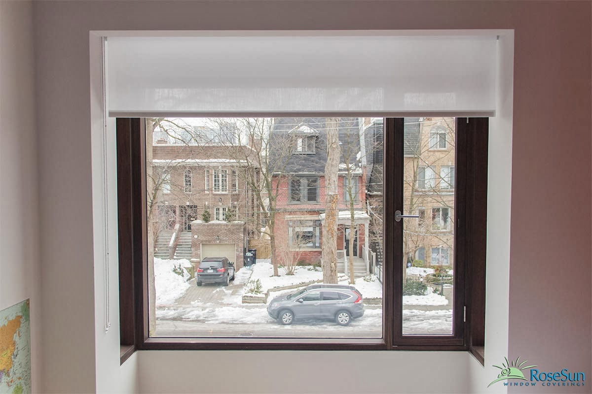 Motorized blinds and shades in toronto for Motorized blinds shades