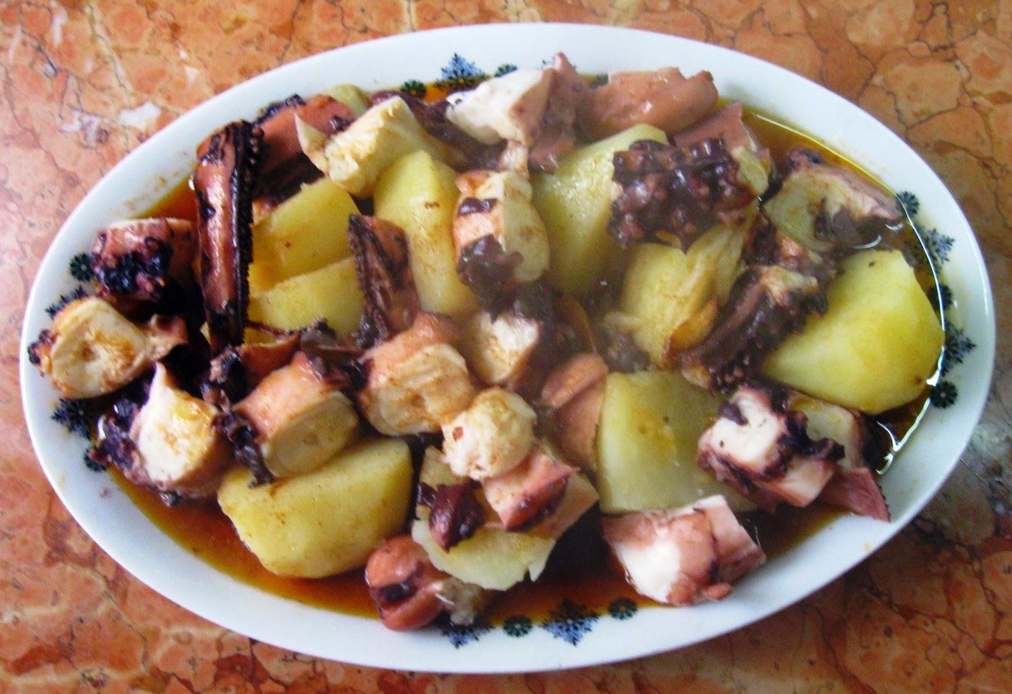 Comidas con historias pulpo a la gallega for Comida rapida y calentita