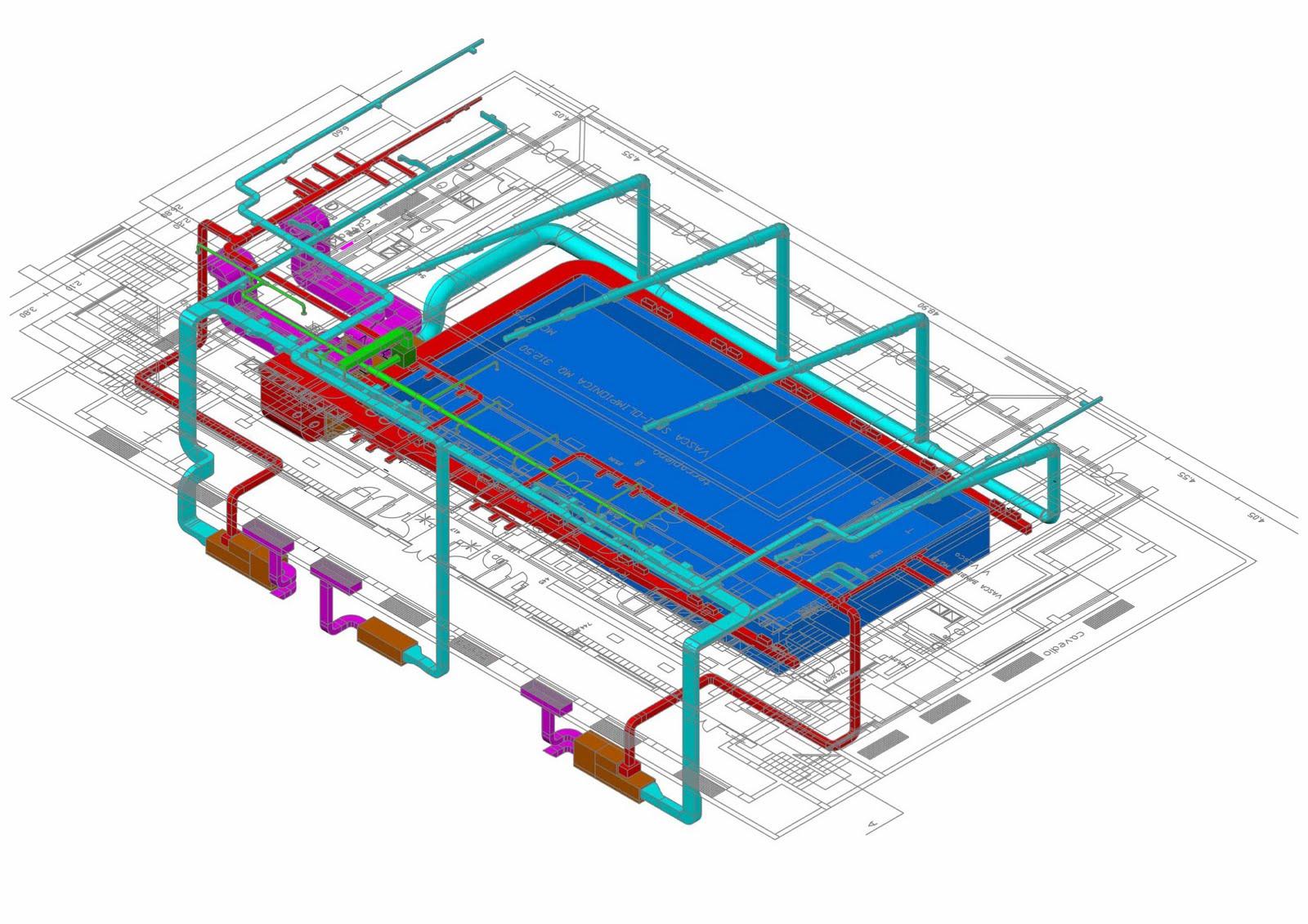 Microclimaenergia impianto di climatizzazione di un for Impianto climatizzazione