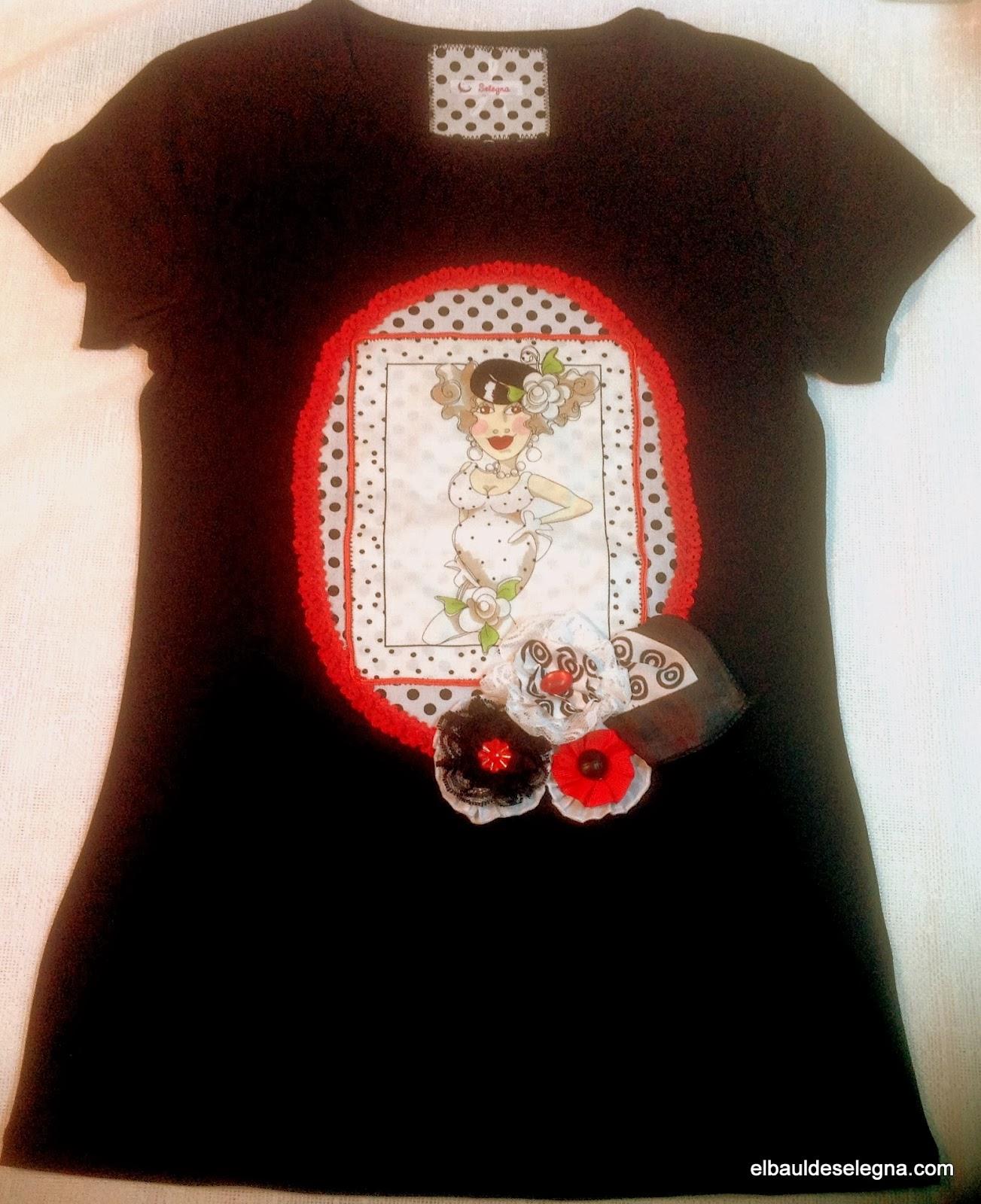 Camiseta chica loca 02