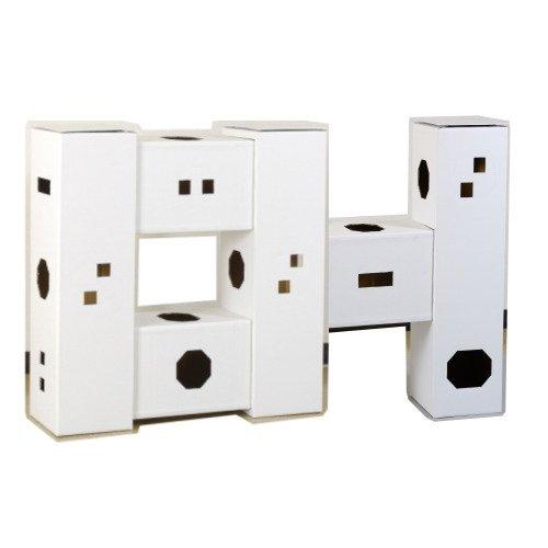 DIY貓咪塔屋 6箱型