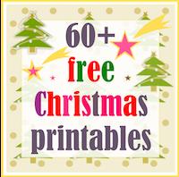free Christmas printable: