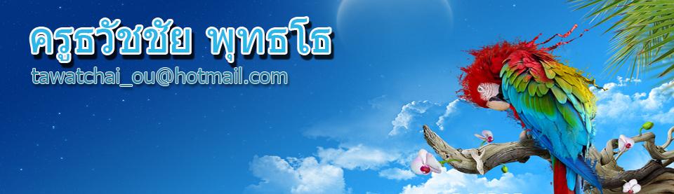 ธวัชชัย พุทธโธ