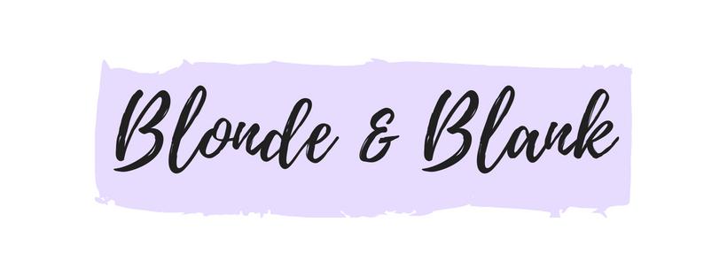 Blonde & Blank
