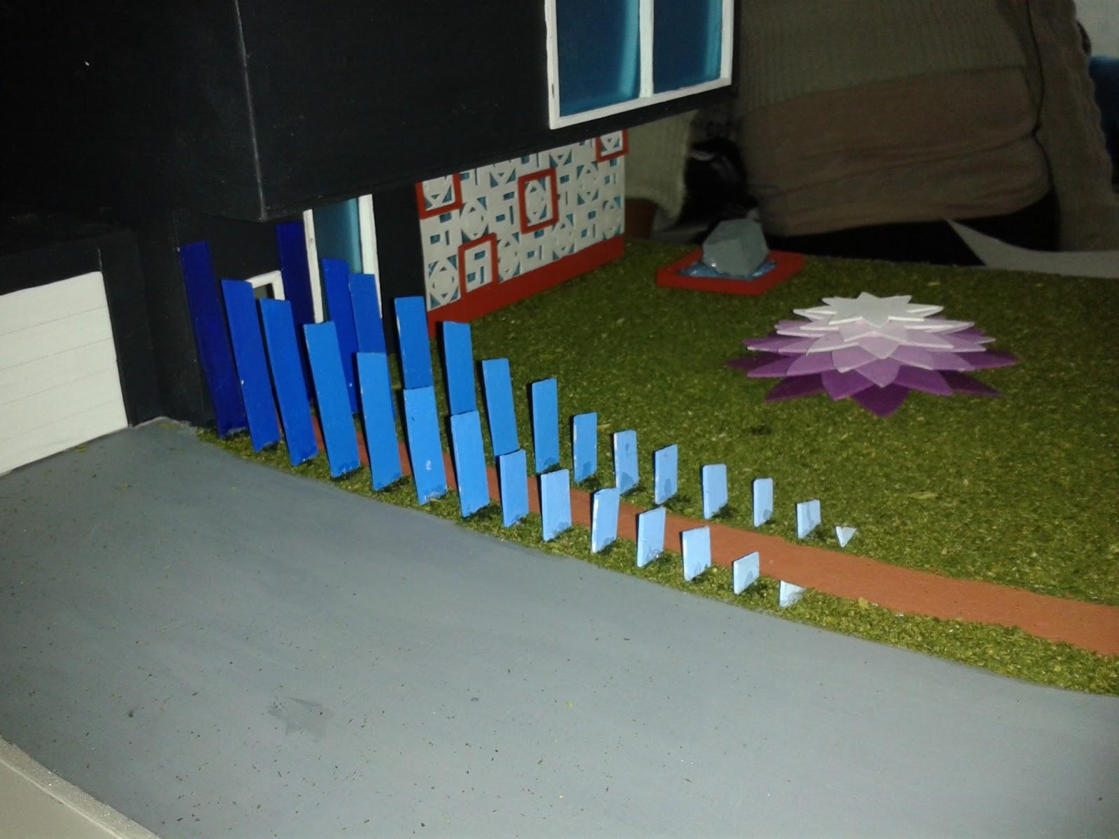 Dise o3d fauas maqueta de planos seriados y celos as for Maquetas de jardines