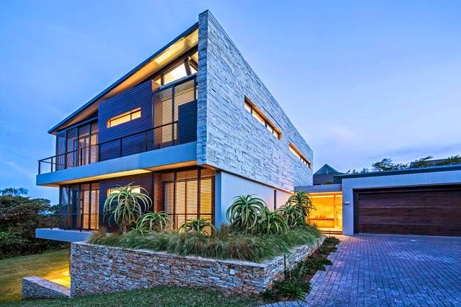 Casas minimalistas y modernas casa minimalista en for Casa minimal