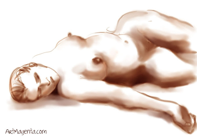 Life drawing by ArtMagenta.com