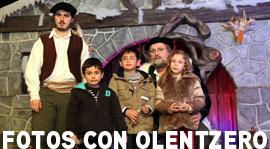 fotos con olentzero