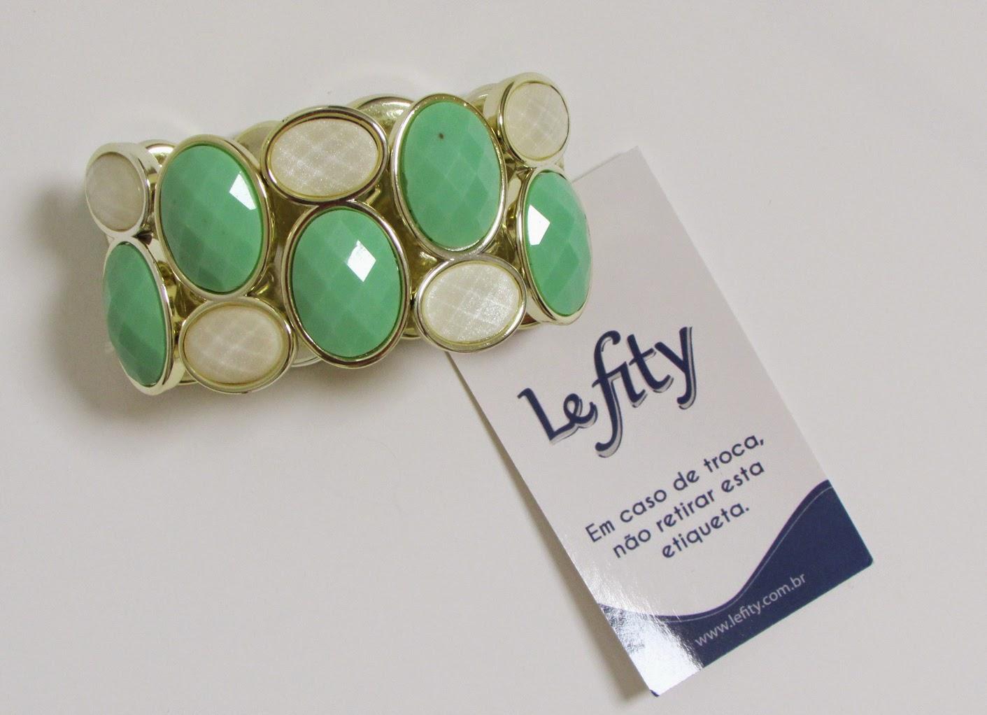 bracelete verde claro lefity