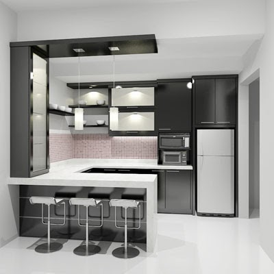 Dapur minimalis untuk dapur mungil jual kitchen set murah for Model kitchen images