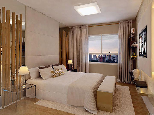 Construindo minha casa clean quartos decorados com piso for Planimetrie della casa con 2 master suite