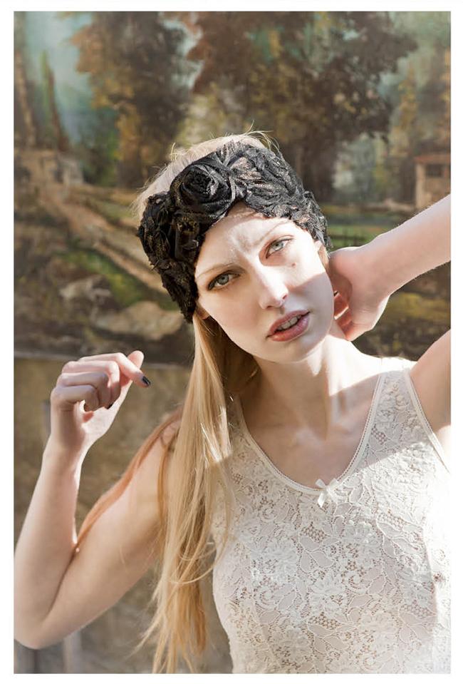 Peinados con turbantes de moda peinados de moda - Turbantes para novias ...