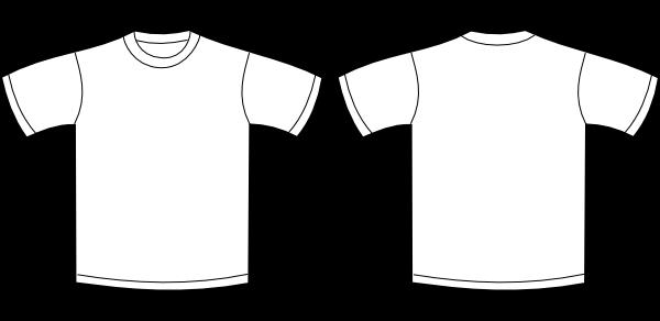 T shirt plain back and front view joy studio design for Plain t shirts to print on