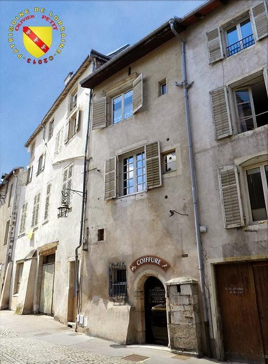 NANCY (54) - Rue du Petit Bourgeois !