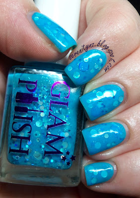Glam Polish Bubble Breeze Swatch