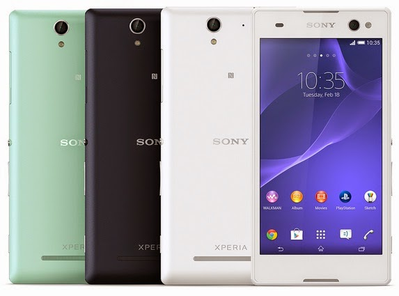 Sony Xperia C3 4G LTE Android Harga Rp 3 Jutaan