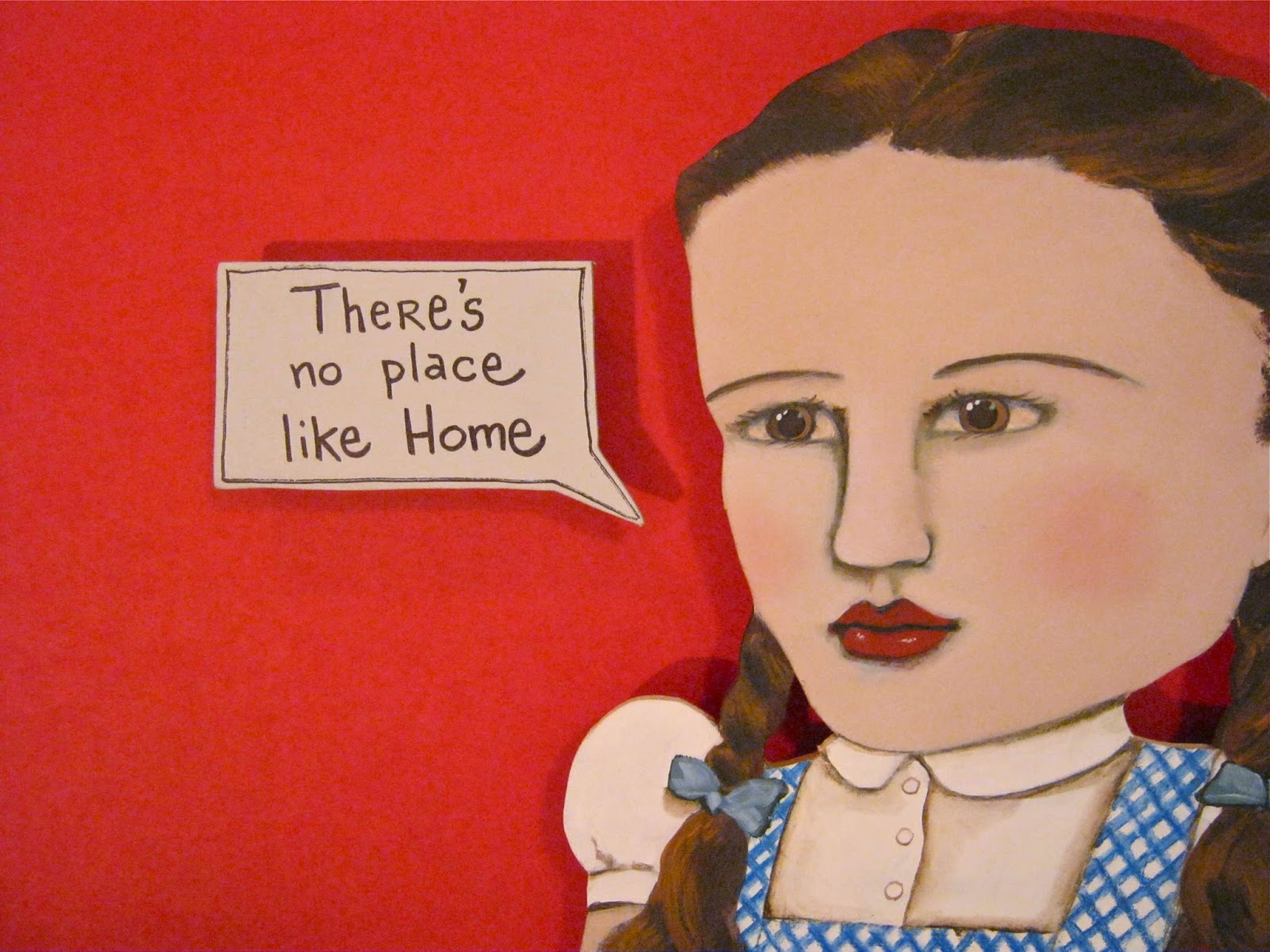Image result for there's no place like home painting