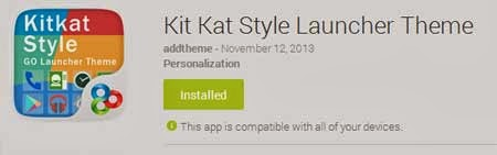 Kit KatStyle LauncherTheme