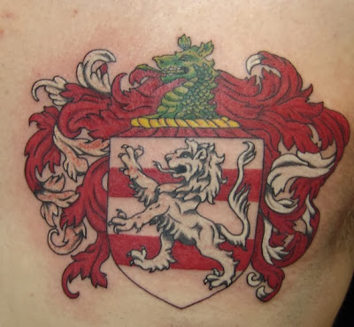 Wappen Tattoo