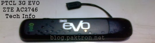 ZTE AC2746 for PTCL evo