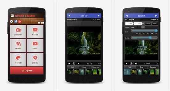 Inilah Aplikasi Android Pembuat Gambar Gif Terbaik