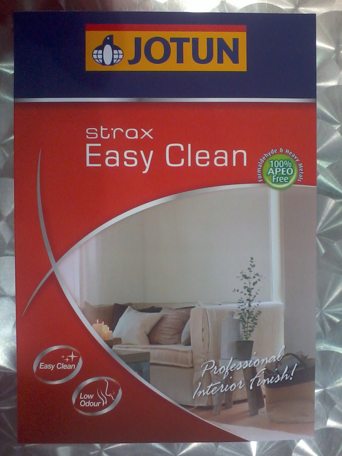 New Launch Jotun Strax Easy Clean Inspirasi Ana