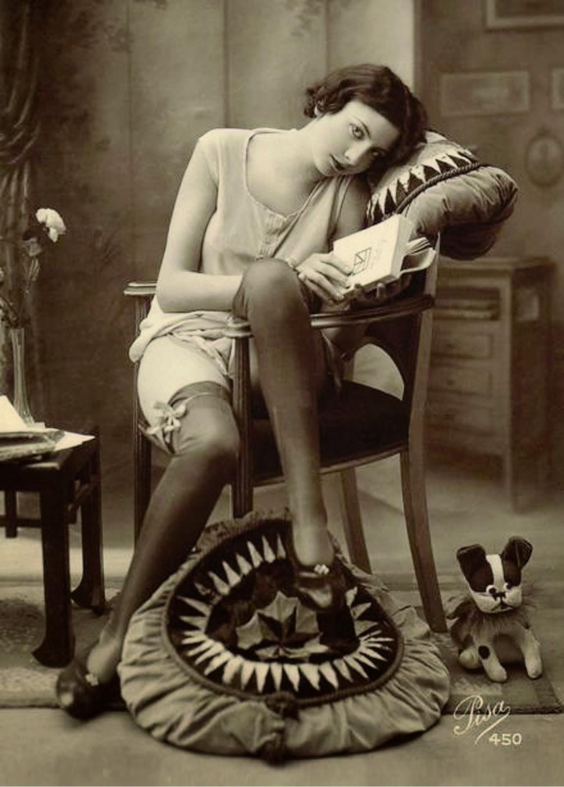 Эротические старинные фотографии 8 фотография
