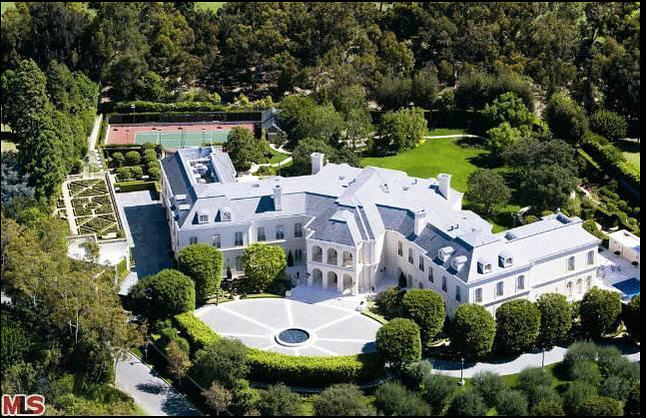 World 39 s luxurious the manor most expensive house in the for Most expensive house in us