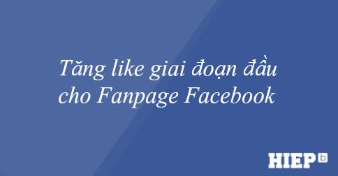 Tăng like Fanpage giai đoạn đầu bằng Addmefast