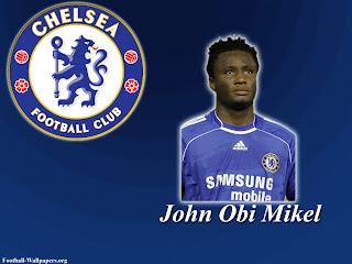 John Obi Mikel Chelsea Wallpaper 2011 3