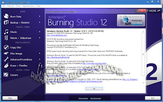 KosKomputer PC Screenshot Review335 Ashampoo Burning Studio 12.0.3.8 Full Crack