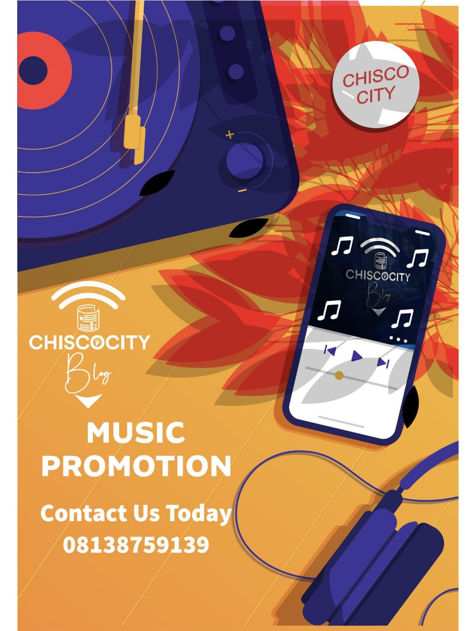 PROMOTE YOUR SONGS ON CCB
