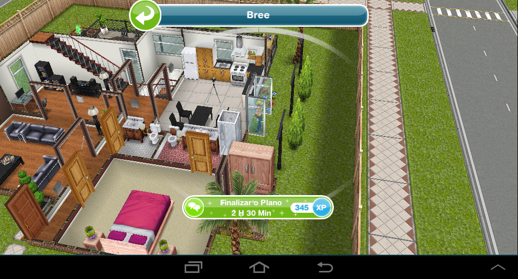 The sims freeplay casas fa a voc mesmo finalizar o for Casa de diseno sims freeplay
