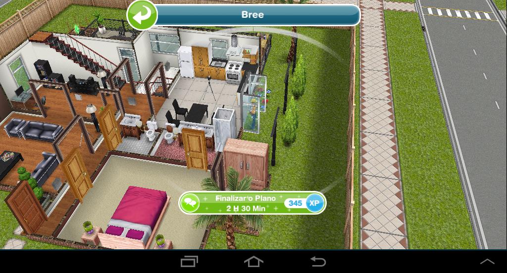 The sims freeplay casas fa a voc mesmo finalizar o for Casa de diseno sims freeplay