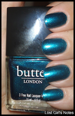 butter london fall/winter 2011 collection bluey swatch