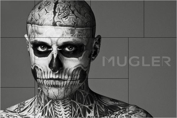 Rick Genest --             Zombie Boy Zombie Boy Lady Gaga