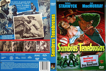 Carátula dvd: Sombras tenebrosas (1953) (The Moonlighter)