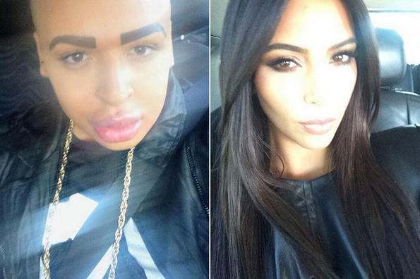 [Photos] Man Spends £100,000 On Surgery To Look Like Kim Kardashian