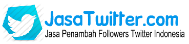 JasaTwitter.com - Jasa Penambah Followers Twitter Indonesia - Jual Followers Twitter