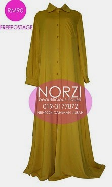 (SALE RM59 ONLY) NBH0244 DAHIMAH JUBAH (NURSING FRIENDLY)