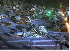 Shirakawa-go Winter Illuminations