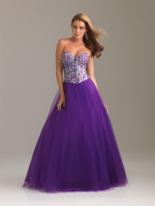 Vestidos para Ti: Vestidos de 15 años color Violeta. Lindos vestidos ...